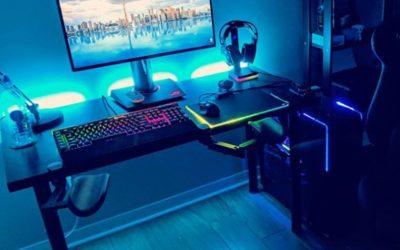 PC Gaming Setup met Ergorest